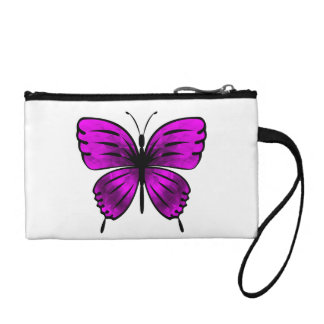 Butterfly_magenta Coin Purse