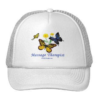 Butterfly Massage Therapist Cap