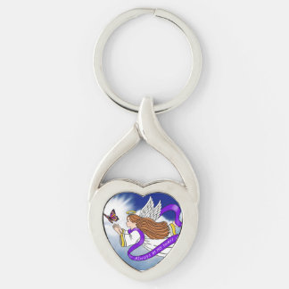 Butterfly Memorial Angel Keychains