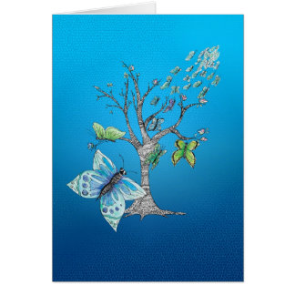 Butterfly Migration Card