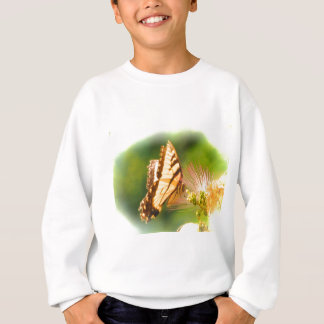 butterfly mimosa tree sweatshirt