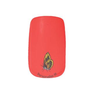 Butterfly Minx Nail Art