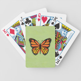 Butterfly Monarch Colourful Bicycle Playing Cards