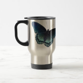 Butterfly Mosaic Travel Mug