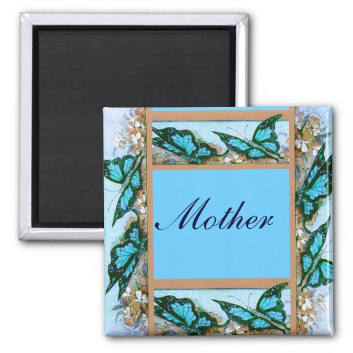 Butterfly Mother's Day Magnet
