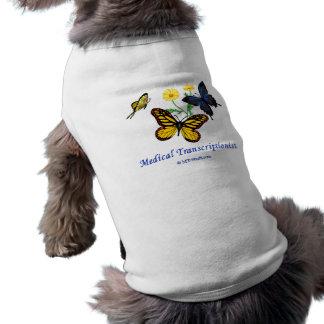 Butterfly MT Sleeveless Dog Shirt