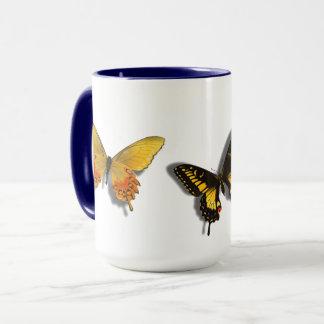 Butterfly Mug 3 D Butterflies