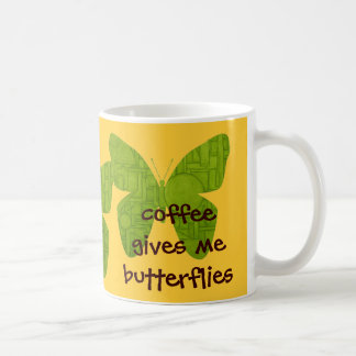 Butterfly Mug. Coffee Mug