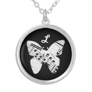 Butterfly Music Pendant