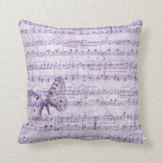 Butterfly Musical Romance Cushion