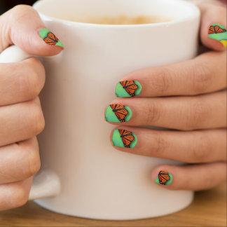Butterfly Nails Minx Nail Art