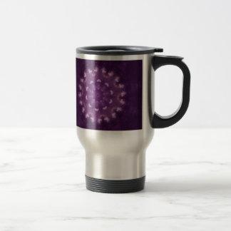 Butterfly Nebula Mandala Travel Mug