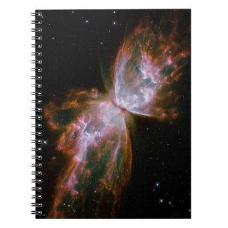 Butterfly Nebula Spiral Notebook