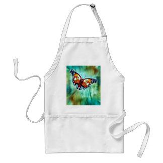 Butterfly of Cherokee Legend Standard Apron
