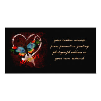 Butterfly Of Memory Photo Greeting Card