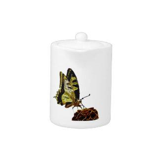 Butterfly on Flower neon