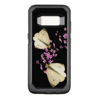 Butterfly on Flowers OtterBox Galaxy S8 Case