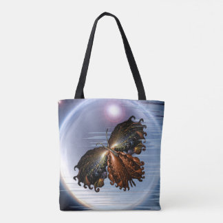 Butterfly on Heaven Tote Bag