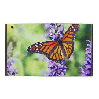 Butterfly on Hyacinth iPad Cover
