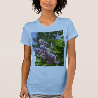 Butterfly on Lilac Bush T-Shirt