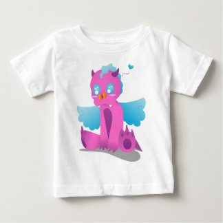 Butterfly on Nose Spiffy The Dragon Baby T-Shirt