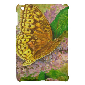 Butterfly on purple butterfly bush Buddleia david iPad Mini Cover