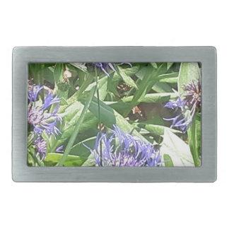 Butterfly on Purple Coneflower Belt Buckle