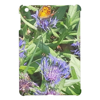 Butterfly on Purple Coneflower Case For The iPad Mini