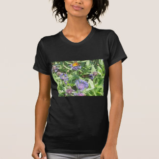 Butterfly on Purple Coneflower T-Shirt
