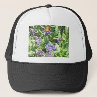 Butterfly on Purple Coneflower Trucker Hat