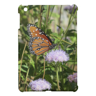 Butterfly on Purple Flower iPad Mini Case