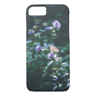Butterfly on the wild flowers iPhone 8/7 case