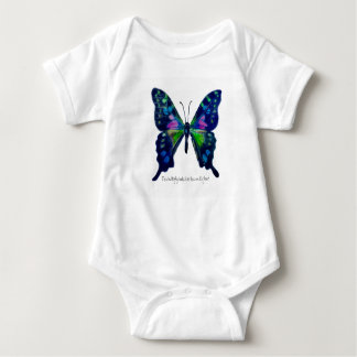 Butterfly One-Piece Bodysuit for Baby