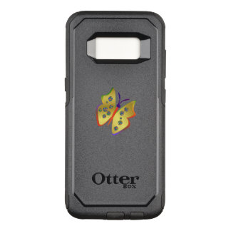 Butterfly OtterBox Commuter Samsung Galaxy S8 Case