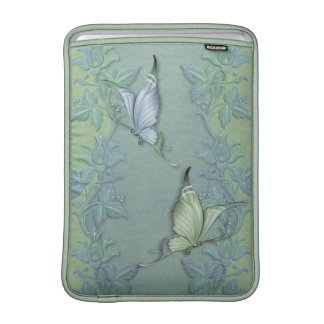 Butterfly Pastel Garden Sleeve For MacBook Air