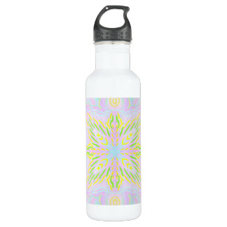 Butterfly Pastel Mandala 710 Ml Water Bottle