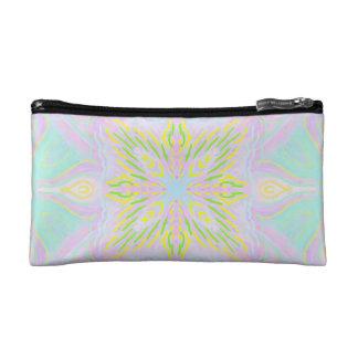 Butterfly Pastel Mandala Cosmetic Bag