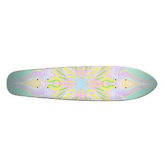 Butterfly Pastel Mandala Skate Decks