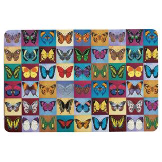 Butterfly Patchwork Floor Mat