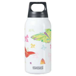 Butterfly pattern 0.3L insulated SIGG thermos water bottle