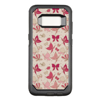 butterfly pattern 2 OtterBox commuter samsung galaxy s8 case