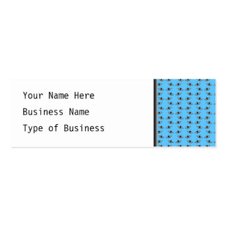 Butterfly Pattern. Blue. Business Cards
