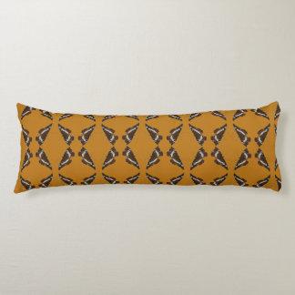 butterfly pattern body cushion