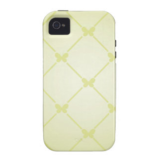 Butterfly Pattern Case-Mate iPhone 4 Case