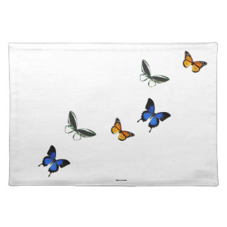 Butterfly Pattern Cloth Placemat