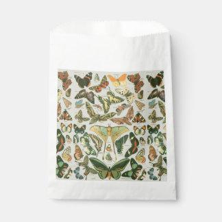 Butterfly pattern favour bags