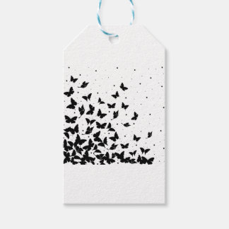 Butterfly pattern gift tags