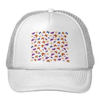Butterfly Pattern Mesh Hats