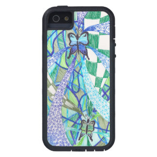 Butterfly pattern iPhone 5 cover