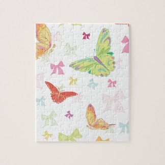 Butterfly pattern jigsaw puzzles